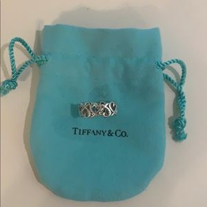 Tiffany Paloma Picasso ring in sterling silver